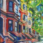 """Row Houses Brooklyn New York City"" by BeaconArtWorksCorporation"