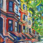 """Row Houses Brooklyn New York City"" by BeaconArtWorksCorporation"
