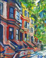 Row Houses Brooklyn New York City