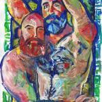 """Sexy nude gay Bear Couple"" by BeaconArtWorksCorporation"