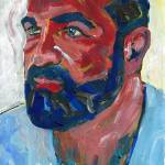 """Bear Portrait of A Man"" by BeaconArtWorksCorporation"