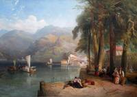 Thomas Miles Richardson Jr. - Italian Lake Scene