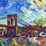 """New York Brooklyn Bridge"" by RDRiccoboni"