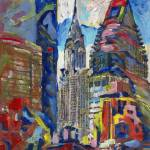 """New York City Skyscrapers Chrysler Building"" by BeaconArtWorksCorporation"