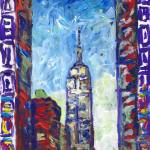 New York Empire State Building by RD Riccoboni