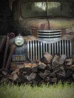 Old Chevy Truck with Firewood