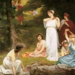 """""""Philip Calderon - Joyous Summer 1882"""" by motionage"""