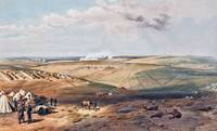 William Simpson - Distant View of Lord Raglan's He