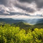 North Carolina Blue Ridge Parkway Scenic Landscape