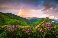 Asheville North Carolina Blue Ridge Parkway Scenic