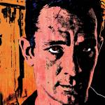 """JACK KEROUAC (COLOUR)"" by thegriffinpassant"
