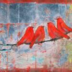 """Let It Be, Four Birds"" by BlendaStudio"