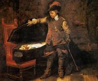 Paul Delaroche - Cromwell before the Coffin of Cha