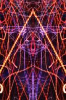 ABSTRACT LIGHT STREAKS #112 - SKELETOR