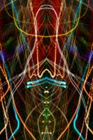 ABSTRACT LIGHT STREAKS #114