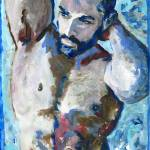 """Agua Man Male nude"" by BeaconArtWorksCorporation"