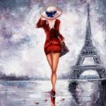 """Woman in Paris"" by boyan"