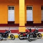 """Motorcycles, Cienfuegos"" by TNorth"