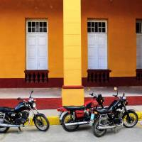 Motorcycles, Cienfuegos Art Prints & Posters by Terry North