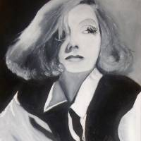 Greta Garbo Art Prints & Posters by Justin Myers