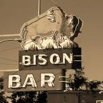 """Miles City, Montana - Bison Bar"" by Ffooter"