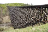 Pouce Coupe Train Trestle