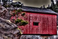 covered bridge , Fundy Park , NB