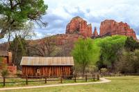 Cabin At Cathedral Rock