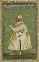 A portrait of Farhad Khan, an African courtier, In