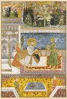 A portrait of Muhammad Shah, India, Deccan, early