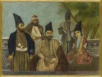A Qajar nobleman, possibly Dust 'Ali Khan Mu'ayyir