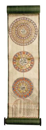 An Illuminated Ottoman Genealogy of the Sultans (S
