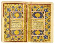 An illuminated Qur'an, copied by Ibn Pir Muhammad
