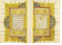 An illuminated Qu'ran, copied by Osman Ibn Mahmud