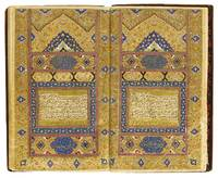 An illuminated Qur'an, Persia, Zand, with lacquer