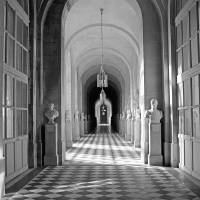 Versailles Statuary Hall Study 2 Art Prints & Posters by Robert Meyers-Lussier
