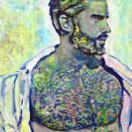"""Platinum Man sexy male nude"" by BeaconArtWorksCorporation"