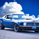 """""""1970 Ford Mustang Fastback"""" by FatKatPhotography"""