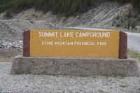 Summit Lake Alaska Highway