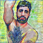 """""""Sunny, Sexy sultry male portrait"""" by BeaconArtWorksCorporation"""