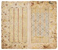 eaves from an illuminated manuscript of Nizami's K