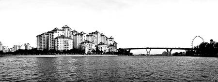 Kallang River Singapore Panorama
