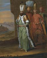Follower of Jean Baptiste Vanmour AHMED III AND HI