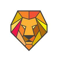 Lion Head Low Polygon