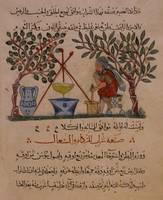 Physician Preparing an Elixir, Folio from a Materi