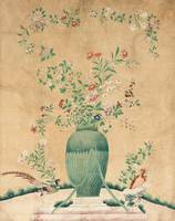 PIECE OF WALL PAPER, QING DYNASTY (1644-1912)