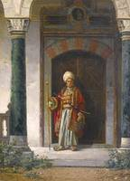 STANISLAW CHLEBOWSKI 1835-1884 THE PALACE GUARD 18