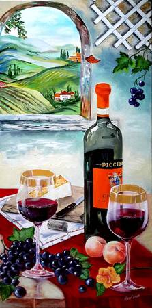 The Wine Painting
