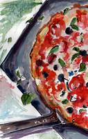Pizza Napolitana Gourmet Food Art