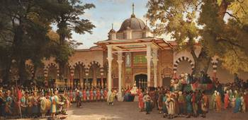 Royal Gathering at Topkapi Palace
